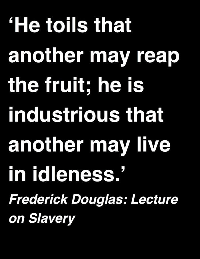 Frederick Douglas - Lecture on Slavery copy